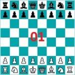 Καλλιτεχνικό σκάκι-Προχωρημένοι-άσκηση 1
